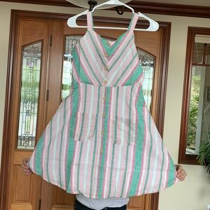 Chevron Cotton Sundress